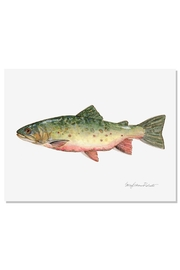 Sally Eckman Roberts Brook Trout Print - Product Mini Image