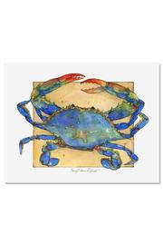 Sally Eckman Roberts Crab Print - Product Mini Image