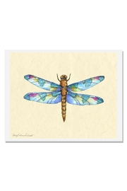 Sally Eckman Roberts Dragonfly Days Turquoise Print - Product Mini Image