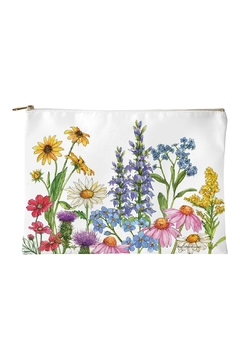 Sally Eckman Roberts Field-Guide Wildflowers Pouch - Alternate List Image