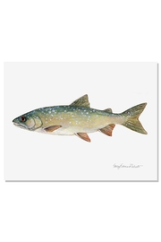 Sally Eckman Roberts Lake Trout Print - Product Mini Image