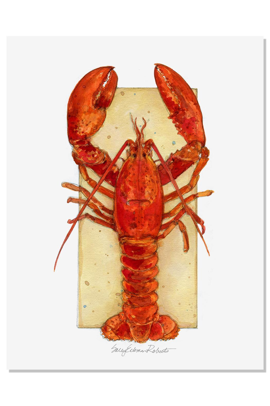 Red Lobster Wall Decor
