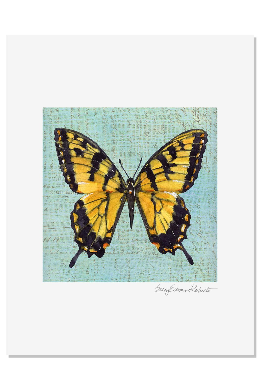 Sally Eckman Roberts Monarch Butterfly Print - Main Image