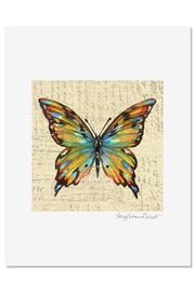 Sally Eckman Roberts Multicolor Butterfly Print - Product Mini Image
