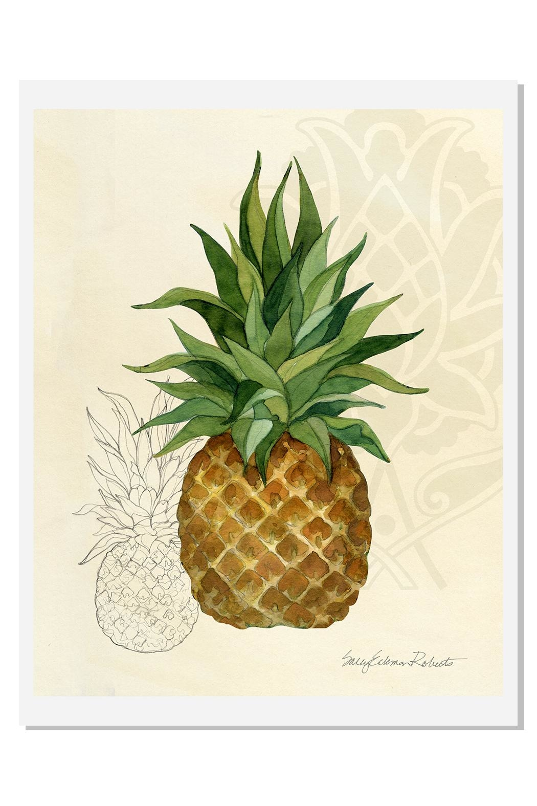 Sally Eckman Roberts Pineapple Breeze Print - Main Image