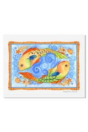 Sally Eckman Roberts Pisces Fish Print - Product Mini Image