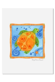 Sally Eckman Roberts Pisces Turtle Print - Product Mini Image