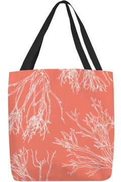 Sally Eckman Roberts Red Coral Tote - Alternate List Image