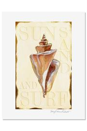 Sally Eckman Roberts Surf Seashell Print - Product Mini Image