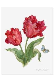 Sally Eckman Roberts Tulip Botanical Print - Product Mini Image