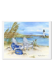 Sally Eckman Roberts Waterside Print - Product Mini Image