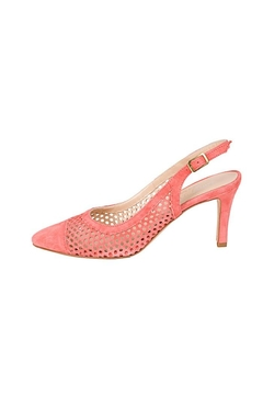 Shoptiques Product: Salmon-Suede Slingback Heel