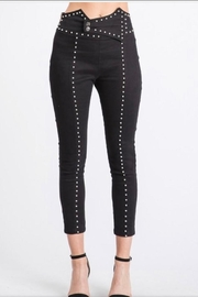 Salt Black Studded Pants - Product Mini Image