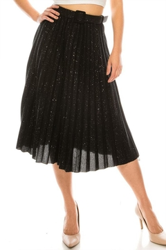 Shoptiques Product: Glitter Knit Skirt