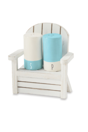 Mud Pie  Salt & Pepper Beach Chair - Product Mini Image