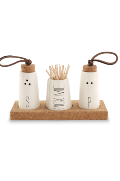 Mud Pie Salt & Pepper Trio - Alternate List Image