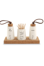 Mud Pie Salt & Pepper Trio - Product Mini Image