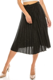 Salt Pleated Sparkle Skirt - Product Mini Image