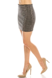 Salt Rhinestone Mini Skirt - Front full body