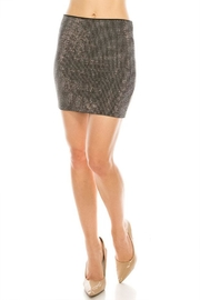 Salt Rhinestone Mini Skirt - Product Mini Image