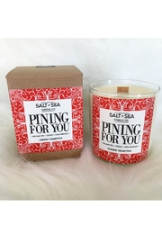 Salt & Sea Candle Co. Pining Candle - Front cropped