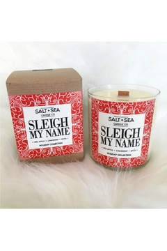 Shoptiques Product: Sleigh Name Candle