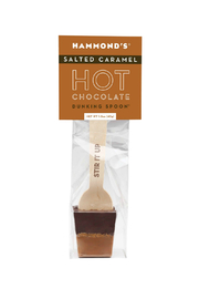 Hammond's Candies Salted Caramel Dark Chocolate Dunking Spoon - Product Mini Image