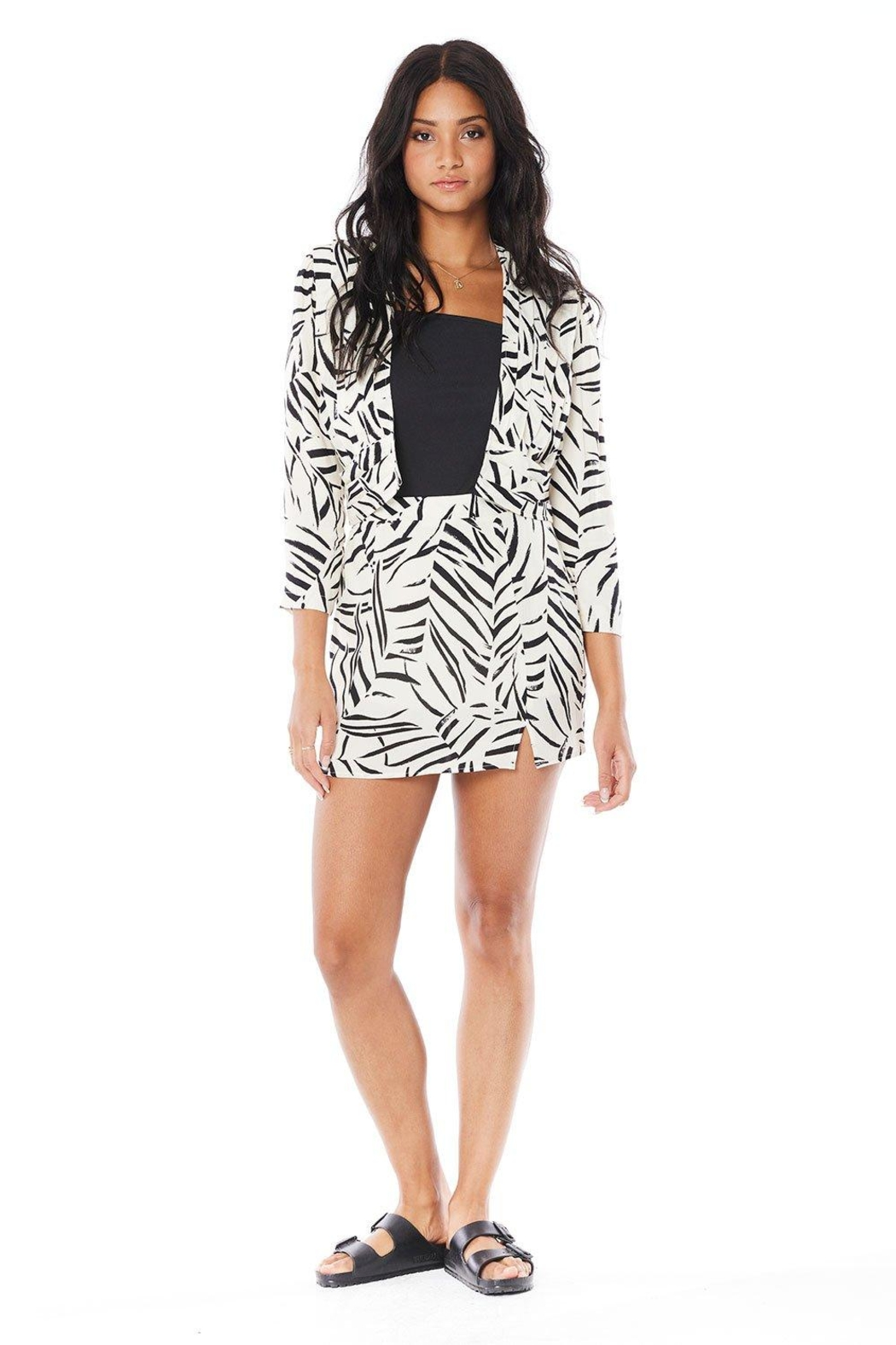 Saltwater Luxe Adley Jacket - Back Cropped Image