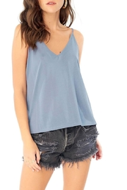Saltwater Luxe Basic V-Neck Tank - Product Mini Image