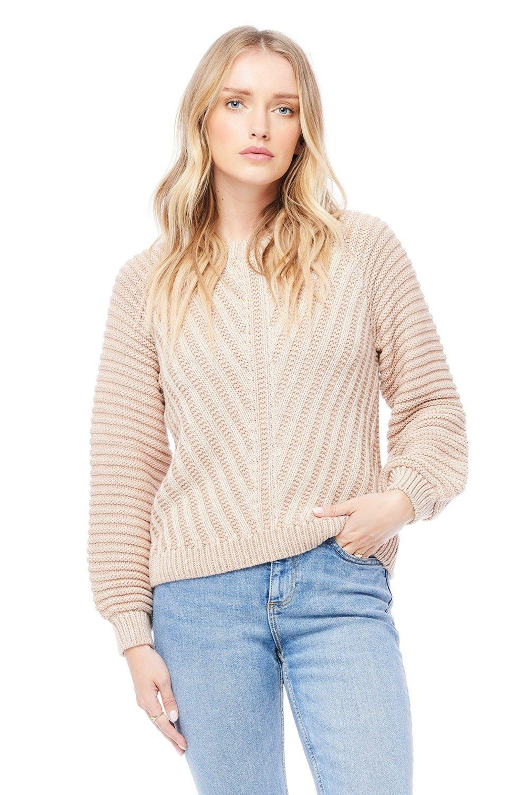 Saltwater Luxe Bergen Sweater - Front Cropped Image