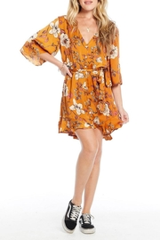 Saltwater Luxe Button Robe Dress - Product Mini Image
