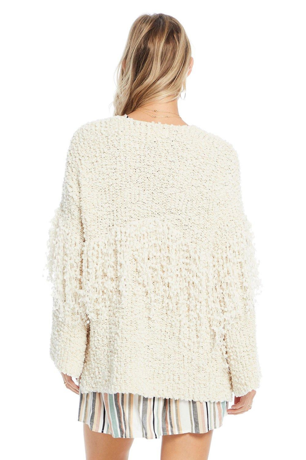 Saltwater Luxe Capri Sweater - Side Cropped Image