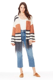 Saltwater Luxe Clay Stripe Sweater - Product Mini Image