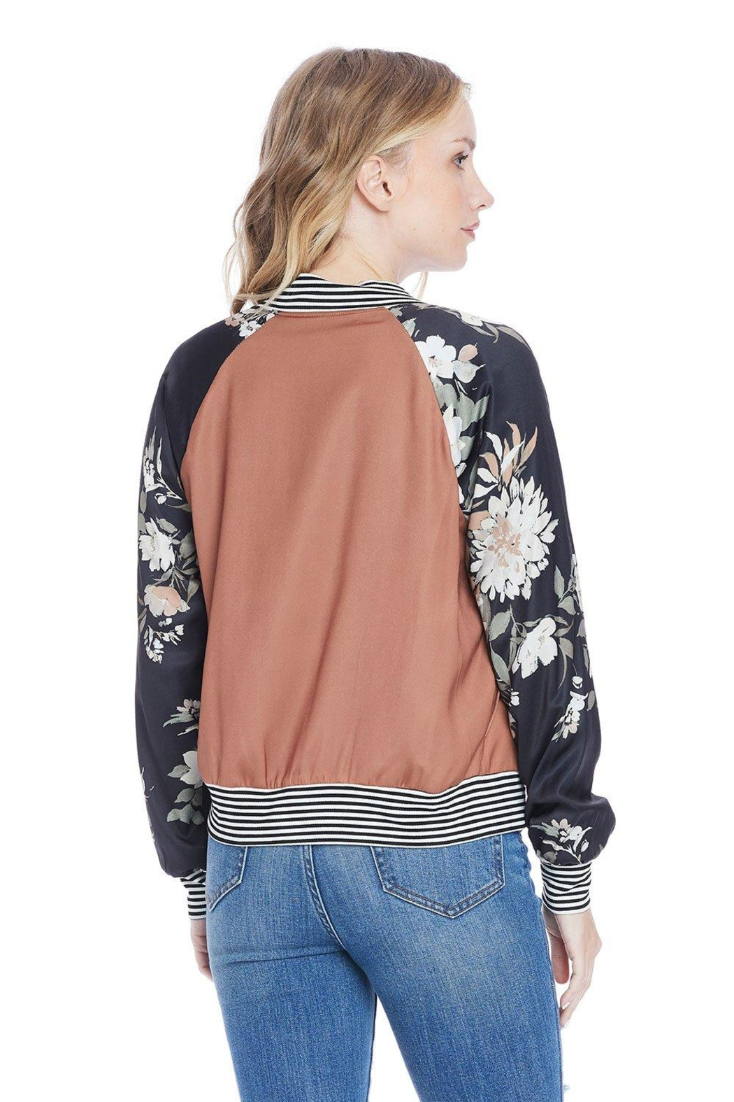 Saltwater Luxe Crossroads Bomber - Side Cropped Image