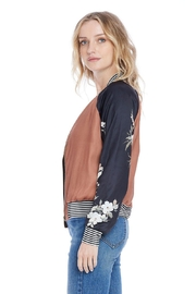 Saltwater Luxe Crossroads Bomber - Front full body