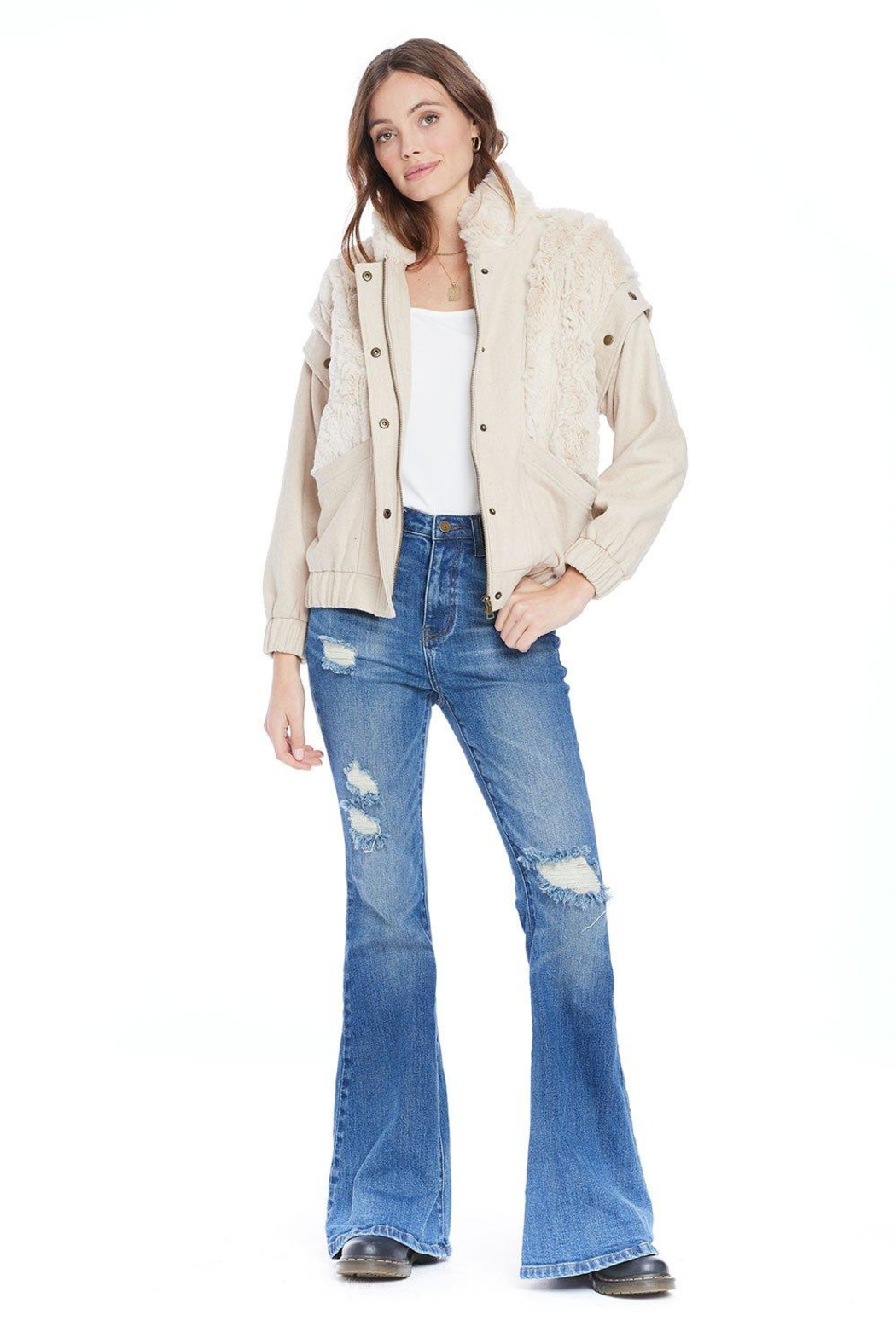 Saltwater Luxe Culver Jacket - Back Cropped Image