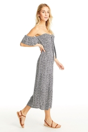 Saltwater Luxe Del-Mar Midi Dress - Front full body