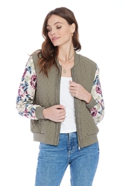 Saltwater Luxe Dinah Bomber - Product Mini Image