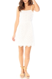 Saltwater Luxe Eyelet Tie-Back Mini - Front cropped
