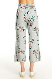 Saltwater Luxe Floral Crop Pant - Front full body