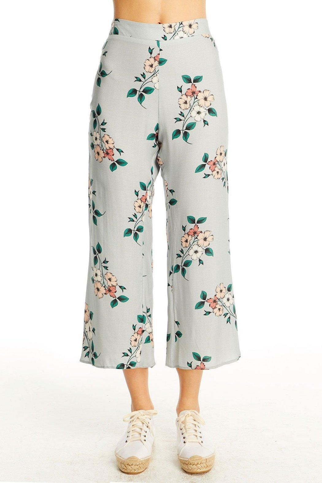 Saltwater Luxe Floral Crop Pant - Main Image