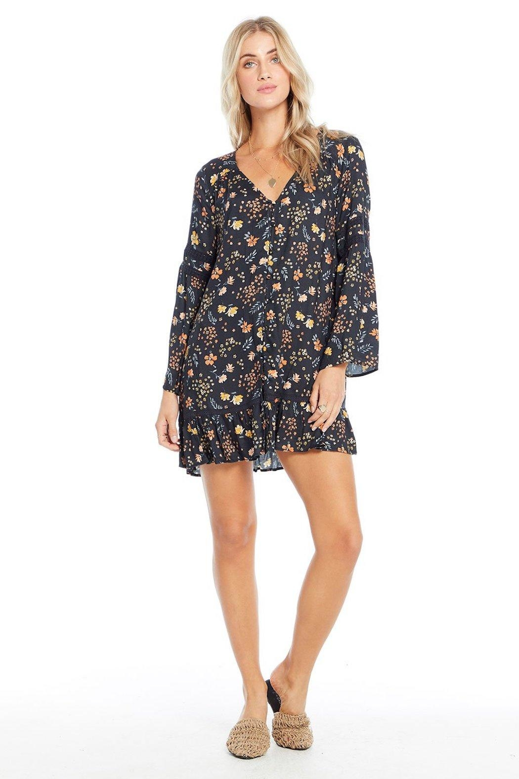 Saltwater Luxe Floral Midi Dress - Main Image