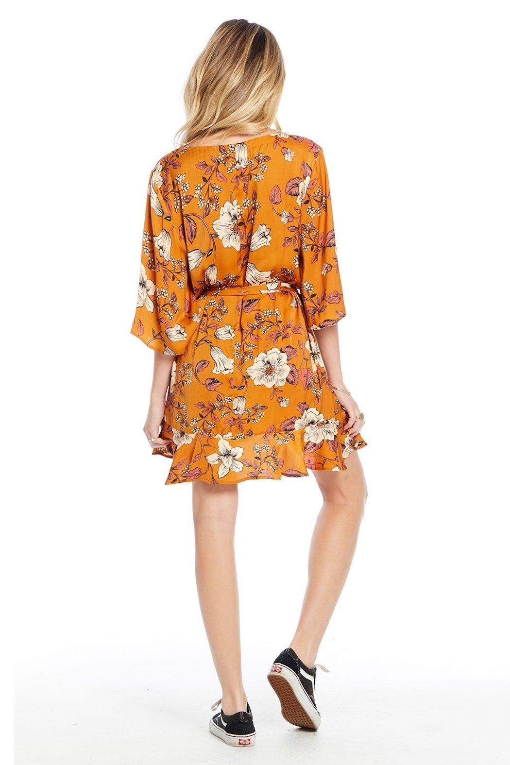 Saltwater Luxe Floral Mini Dress - Front Full Image