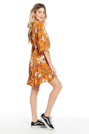 Saltwater Luxe Floral Mini Dress - Front full body