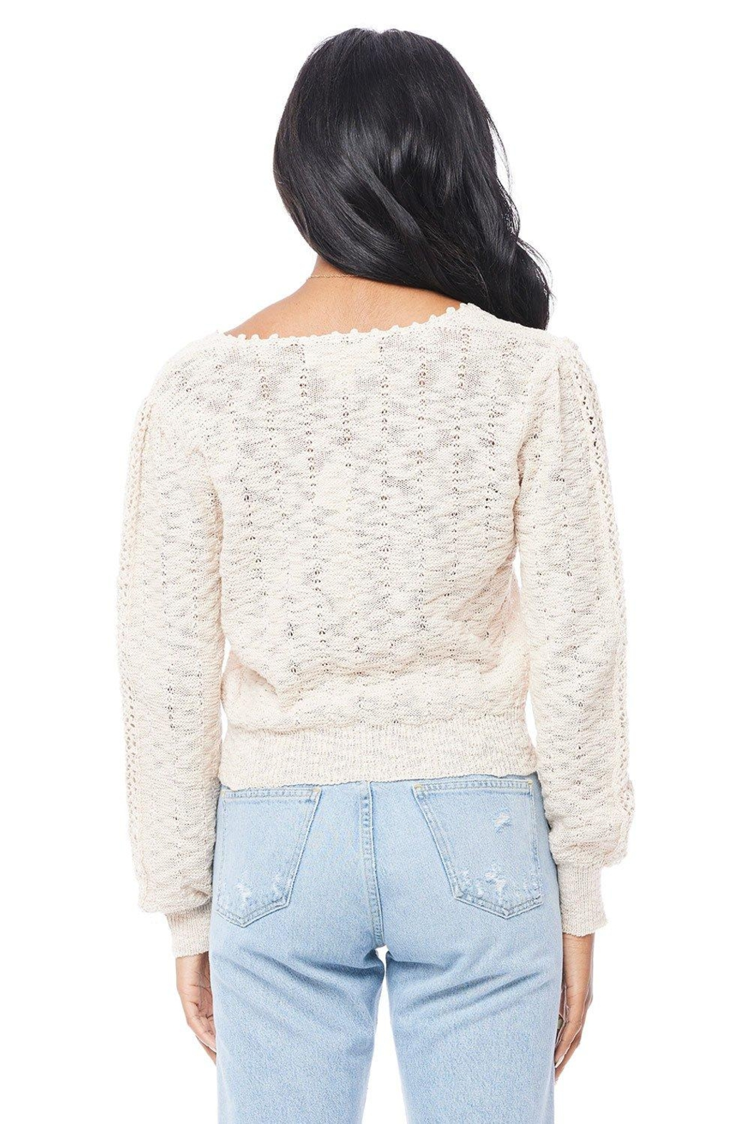 Saltwater Luxe Hudson Sweater - Side Cropped Image