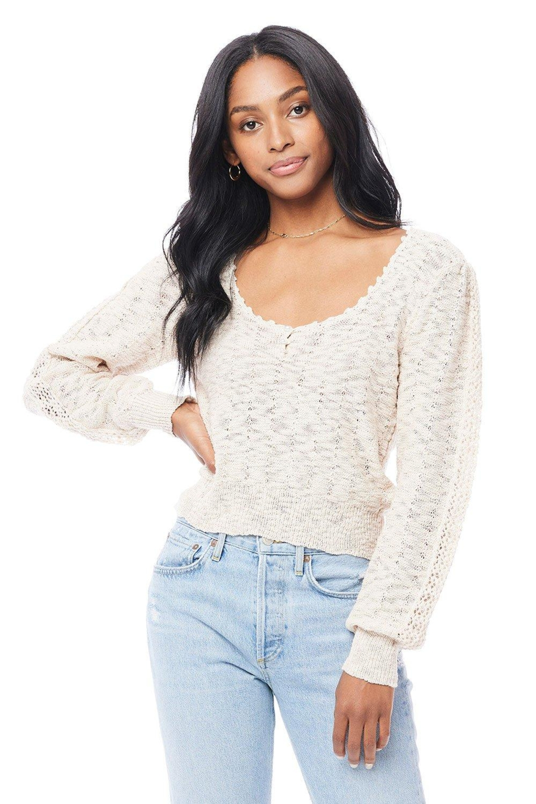 Saltwater Luxe Hudson Sweater - Main Image