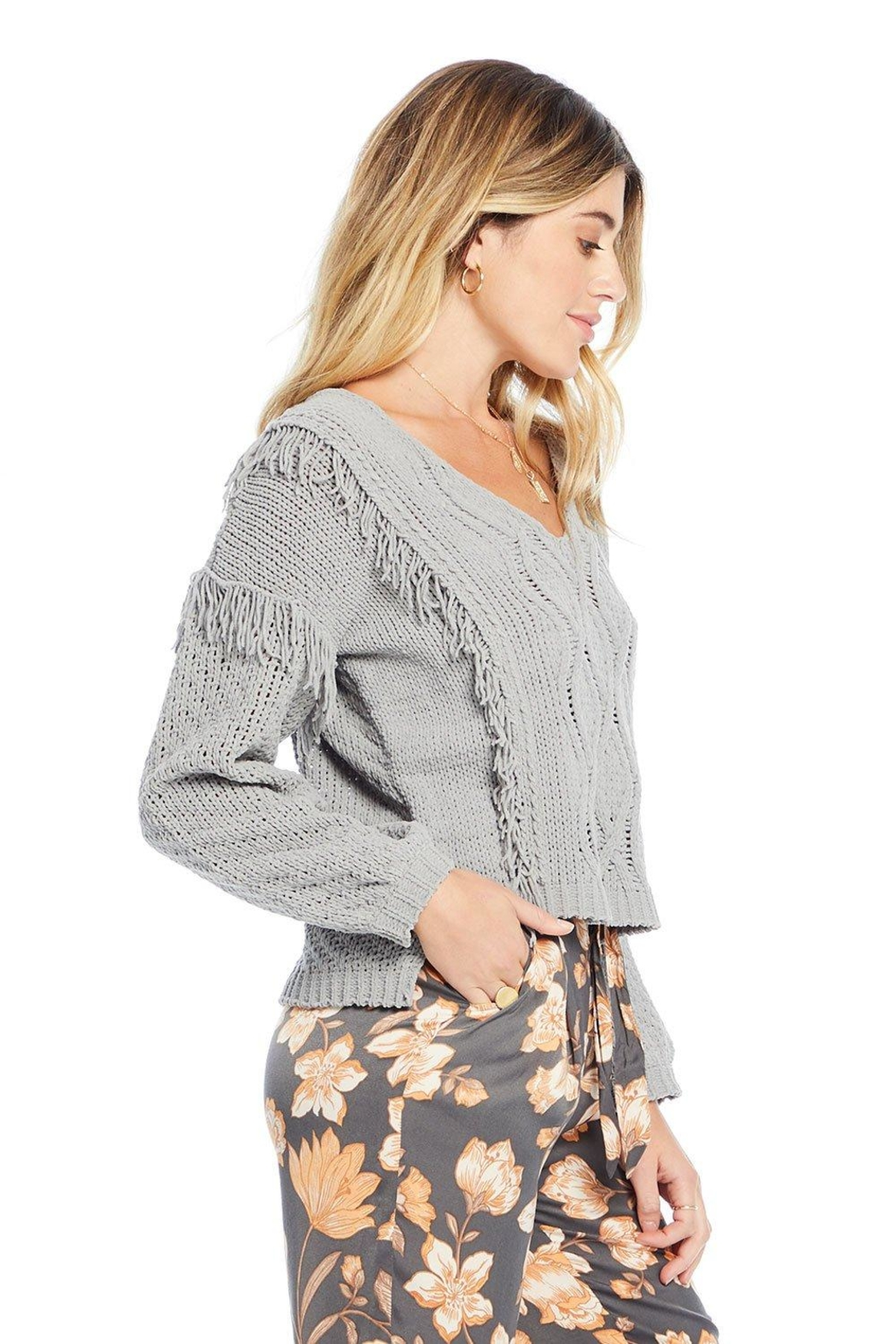 Saltwater Luxe Kenedy Sweater - Front Full Image