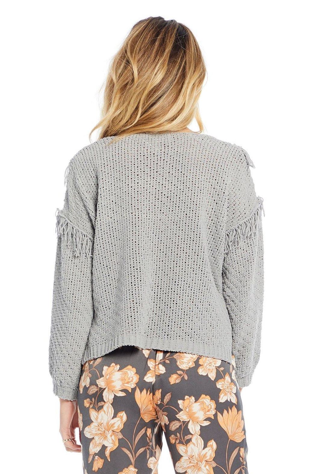 Saltwater Luxe Kenedy Sweater - Back Cropped Image