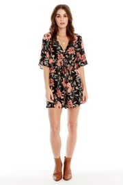 Saltwater Luxe Lido Floral Romper - Product Mini Image