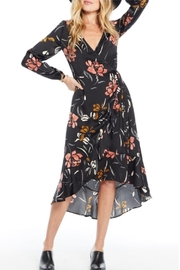 Saltwater Luxe Long-Sleeve Wrap Dress - Product Mini Image
